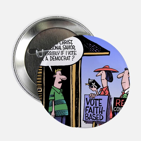 "Religion Politics 2.25"" Button"