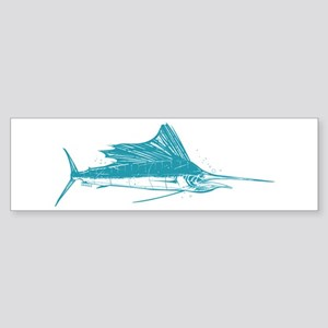 Sailfish Teal Sticker (Bumper)
