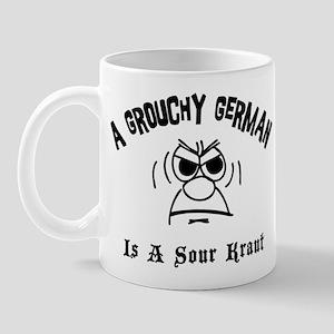 Grouchy German Mug