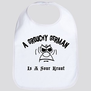 Grouchy German Bib