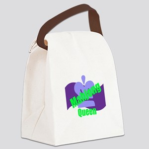 Mahjong Queen Canvas Lunch Bag