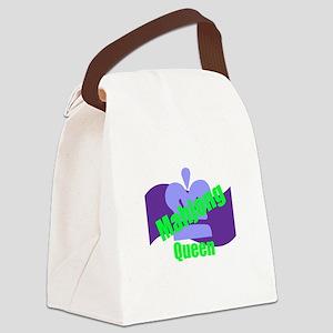 Mahjong Queen Canvas Lunch Bag