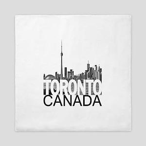 Toronto Skyline Queen Duvet
