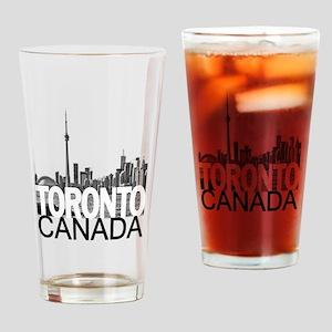 Toronto Skyline Drinking Glass