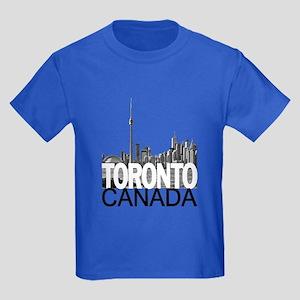 Toronto Skyline Kids Dark T-Shirt