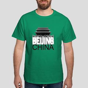 Beijing Skyline Dark T-Shirt