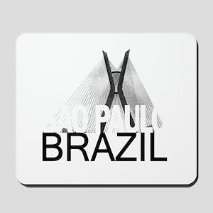 Sao Paulo Skyline Mousepad
