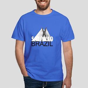 Sao Paulo Skyline Dark T-Shirt