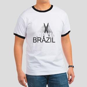 Sao Paulo Skyline Ringer T