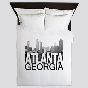 Atlanta Skyline Queen Duvet