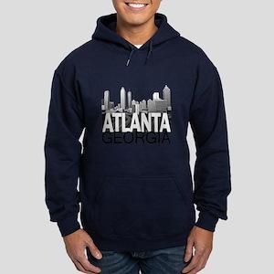 Atlanta Skyline Hoodie (dark)