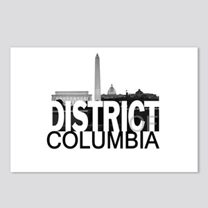District of Columbia Skyline Postcards (Package of