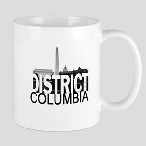District of Columbia Skyline Mug