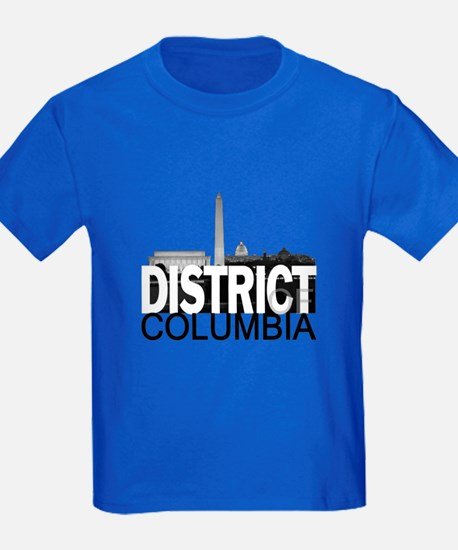District of Columbia Skyline T