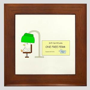 Free Perm Framed Tile
