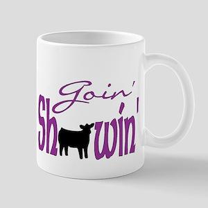 Black heifer Mug