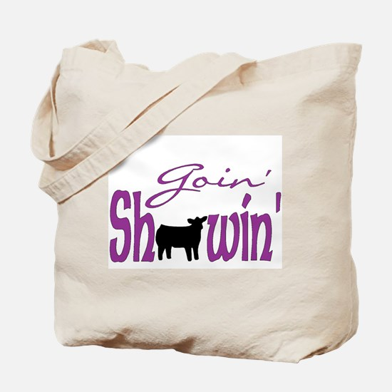 Black heifer Tote Bag