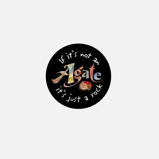 Agate Collector Mini Button