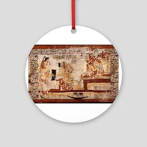 mayan Ornament (Round)