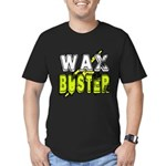 Wax Busting Men's Fitted T-Shirt (dark)