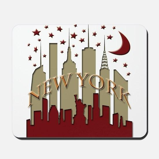 New York City Skyline hot Mousepad