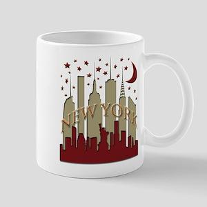 New York City Skyline hot Mug