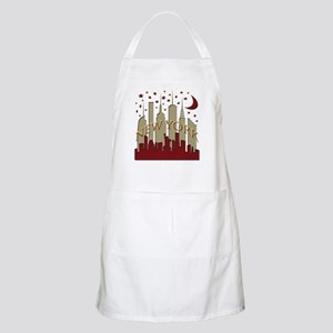 New York City Skyline hot Apron
