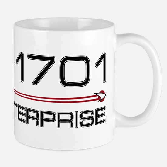 USS Enterprise 2009 Dark Mug