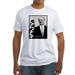 Linus Pauling Fitted T-Shirt