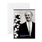 Linus Pauling Greeting Cards (Pk of 10)