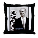 Linus Pauling Throw Pillow