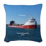 Frontenac Woven Throw Pillow