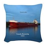 Nanticoke Woven Throw Pillow