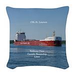 Csl St. Laruent Woven Throw Pillow