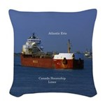 Atlantic Erie Woven Throw Pillow
