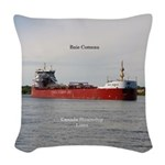 Baie Comeau Woven Throw Pillow
