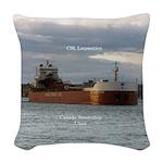 Csl Laurentien Woven Throw Pillow