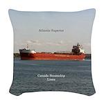 Atlantic Superior Woven Throw Pillow
