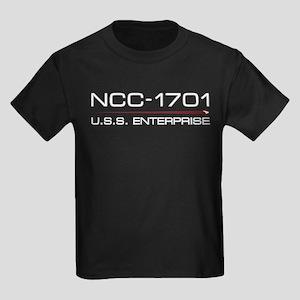 USS Enterprise 2009 Light Kids Dark T-Shirt