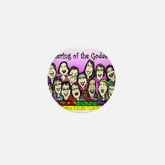 Gathering of the Goddesses Mini Button