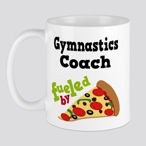 Gymnastics Coach Funny Pizza Mug