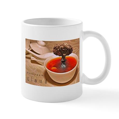 Mushroom cloud soup Mug