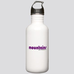 Mountains Stainless Water Bottle 1.0L