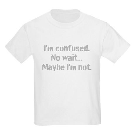 Im confused Center Kids Light T-Shirt