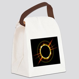 Ring of Fire Eclipse Canvas Lunch Bag