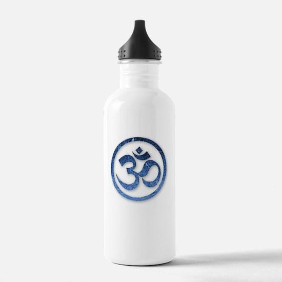 Om Symbol Sports Water Bottle