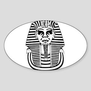 Obey Pharaoh Sticker (Oval)