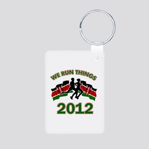 All Kenya does is win Aluminum Photo Keychain
