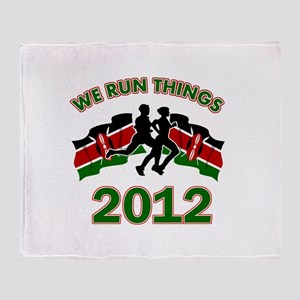 All Kenya does is win Throw Blanket