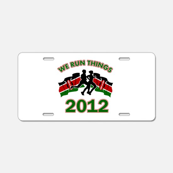 All Kenya does is win Aluminum License Plate